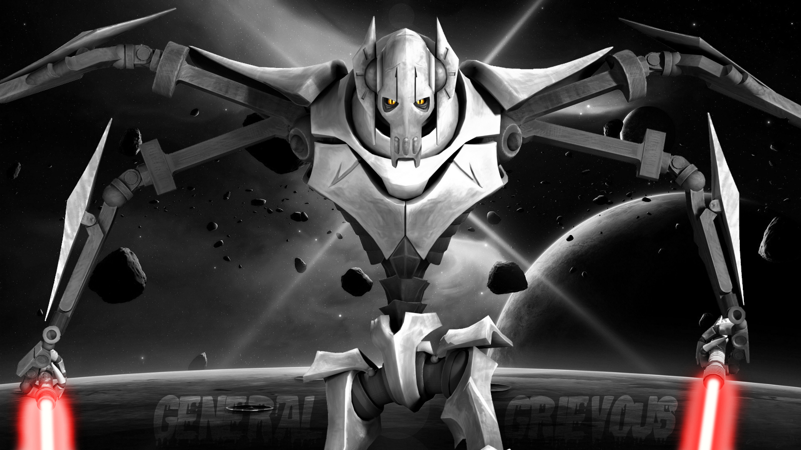 how tall is general grievous